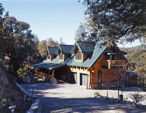 cabin style houses photos of a creekside log home striking it rich