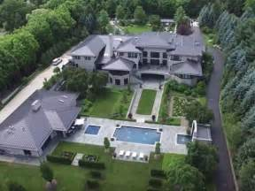 Steelers Bedroom watch see lebron james ohio home from a drone fairlawn