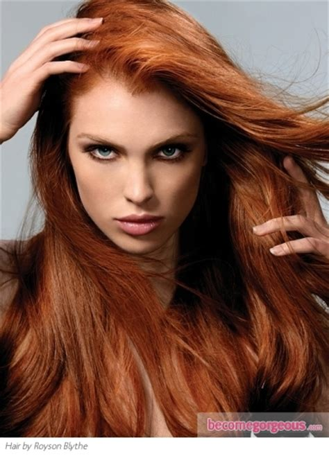 ginger hair color pictures red hair color shades intense ginger red hair
