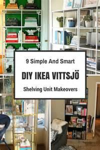 ikea vittsjo shelving unit picture of 9 simple and smart diy ikea vittsjo shelving