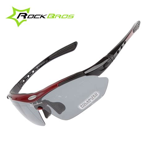 Kacamata Sepeda Outdoor Sport Bicycle Glasses Eyewear rockbros polarized cycling sun glasses outdoor sports bicycle glasses bike sunglasses tr90