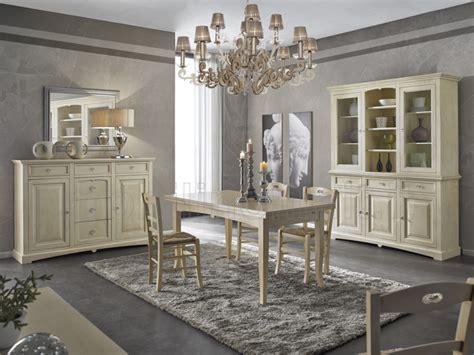 mobili sala da pranzo sala da pranzo avorio patinato linea goccia