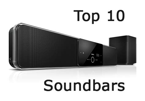top 10 sound bar top 10 die besten soundbar systeme tvfacts de