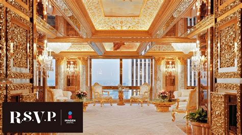 donald trump pent house el lujoso penthouse de donald trump rsvp youtube