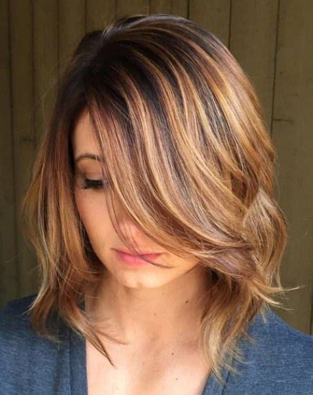 cute shoulder length haircuts longer in front and shorter in back 20 medium length haircuts for thick hair