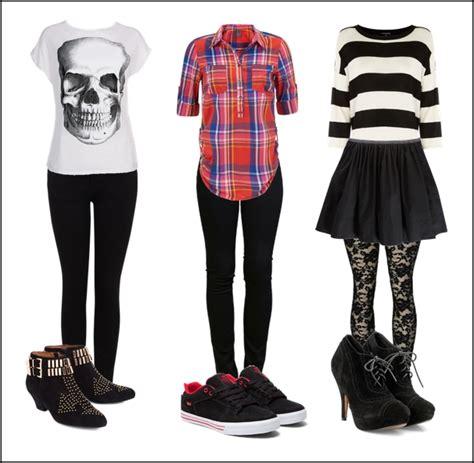 imagenes de vestimentas rockeras entre trapos y ollas look rockero