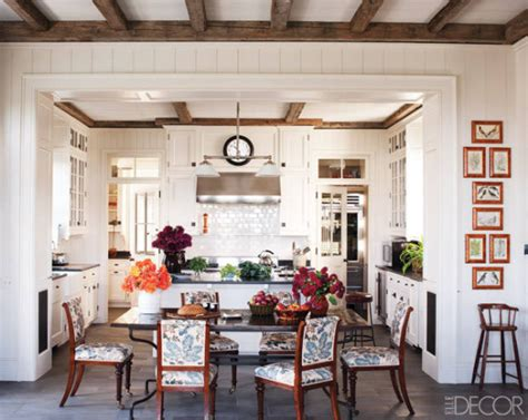 eat in kitchen traditional colorful interior design by miles redd