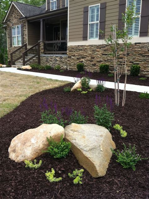 landscaping with boulders landscaping with rocks boulders