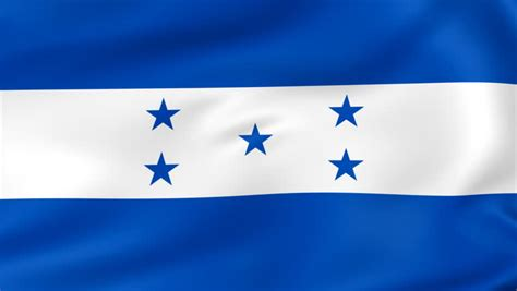 flags of the world honduras loopable flag of honduras honduran official flag gently