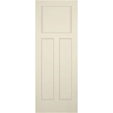 3 Panel Pine Interior Doors Builder S Choice 30 In X 80 In 3 Panel Craftsman Solid Primed Pine Single Prehung