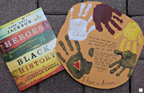 black history crafts for learning remembering martin luther king jr