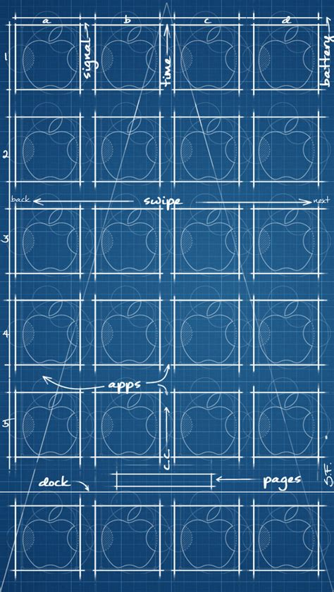iphone blueprint wallpaper ios 7 iphone 5 blueprint wallpaper ios 7