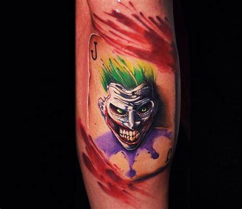 joker tattoo with cards ben ochoa tattoo best tattoos pinterest tattoo