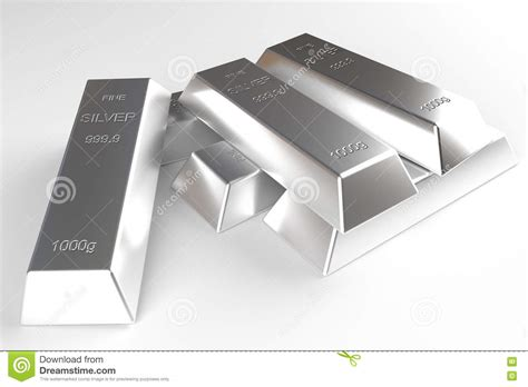 Yum Market Finds Stock Your Bar With Silver by Stack Of Silver Bars Stock Image Cartoondealer 5372509
