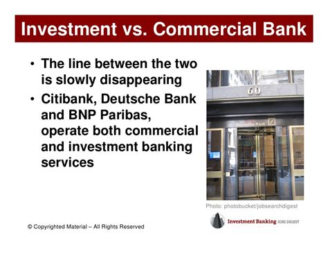 deutsche bank investment services overview of the investment banking industry