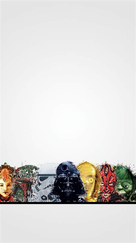 minimal star wars iphone  wallpaper star wars