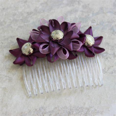 Wedding Hair Accessories Purple by Plum Hair Accessories Plum Wedding Hair Comb Plum