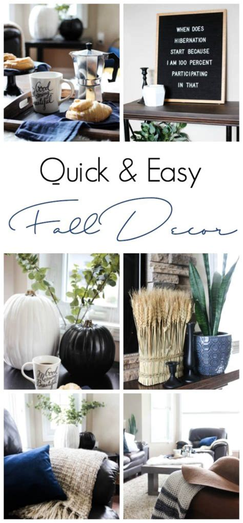 fall home decorating ideas quick and simple 183 storify quick and easy fall room decor love create celebrate