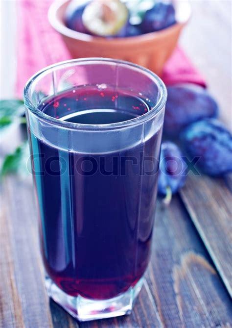 Fruit Juice Fresh Green Plum Juice plum juice stock photo colourbox