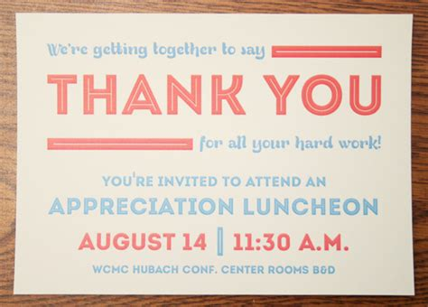 Vanderbilt Mba Invitation Date by Employee Appreciation Lunch Www Pixshark Images