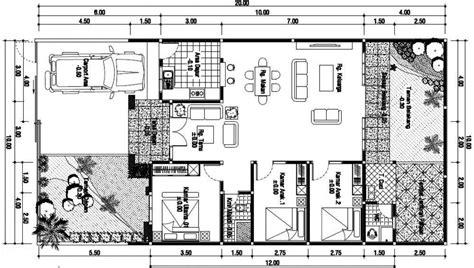 16 gambar denah rumah minimalis modern terbaik 2017 desain rumah minimalis 2018