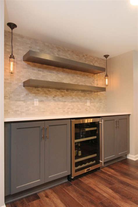 Cottage Kitchen Backsplash Ideas 45 basement kitchenette ideas to help you entertain in