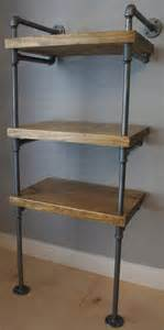 galvanized pipe shelves industrial media stand pipe shelving unit media by