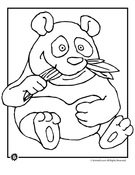 coloring page of panda bear panda bear coloring pages to download and print for free