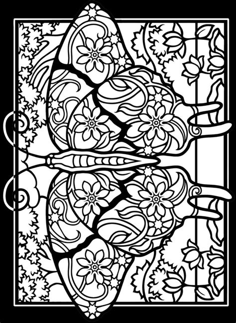 free printable coloring book pages free printable stained glass design coloring pages