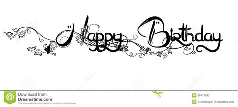 Happy Birthday Wishes In Different Fonts Stock Photos Happy Birthday Image 36471683