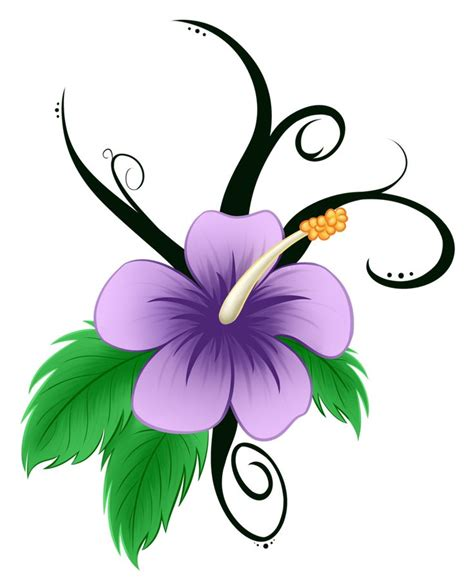 hawaiian flower clip art pin hibiscus remixed free clip