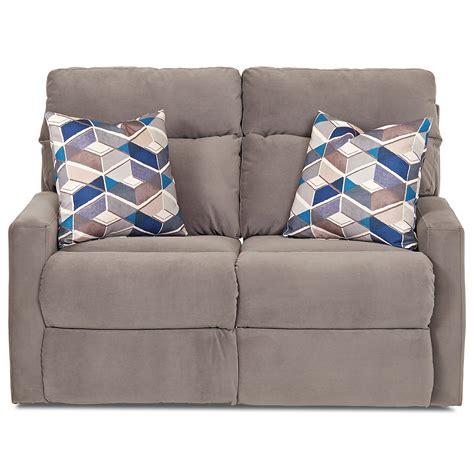 recliner pillows for bed klaussner monticello power reclining loveseat with track