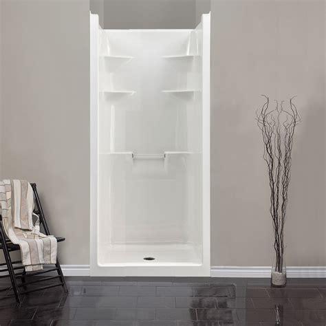 Mirolin Mel3 Melrose 3 One Piece Shower Stall White Home Mirolin Shower Door Installation