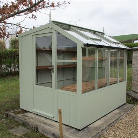 swallow  jay wooden potting shed   potting shed