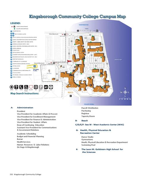 kingsborough community college map map of kingsborough community college by cuny kingsborough issuu