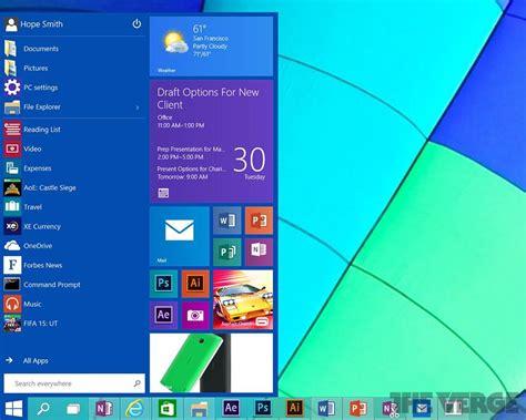 imagenes de inicio windows 10 windows 10 ser 225 el nuevo sistema operativo de microsoft
