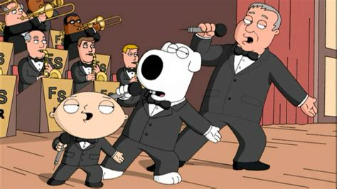 swing and a miss family guy brian sings and swings tbs com