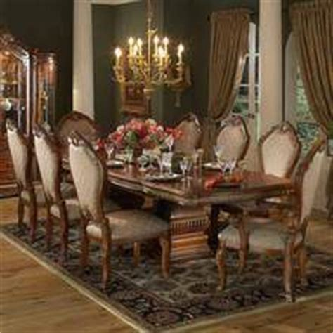 opulent traditional style formal dining room furniture set hollywood swank formal dining room collection in pearl by