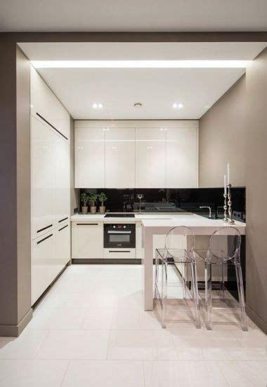 small modern kitchen interior design cocinas integrales peque 241 as 2016 espaciohogar