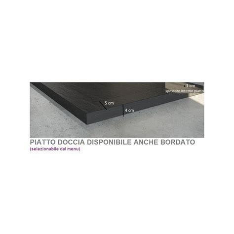 box doccia 70x90 stondato piatto doccia in pietra sintetica ardesia 70x90