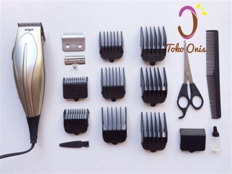 Wigo W 520 Hair Cclipper Pencukur Rambut Goldsilveralat Cukur clipper wigo kode op04 toko onis