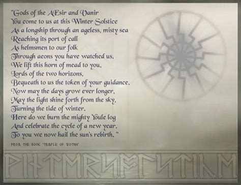 norse prayer norse yule prayer the religion