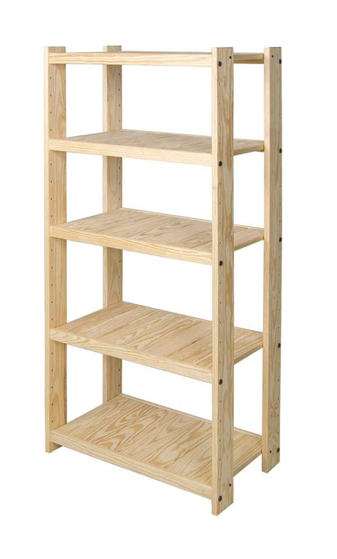 wood shelving units pine wood shelving unit stor pine