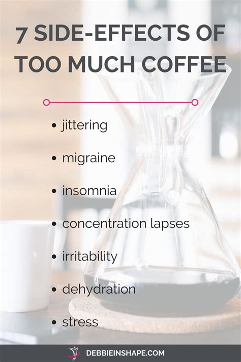 Coffee Detox Side Effects by The About Coffee And Productivity Debbie