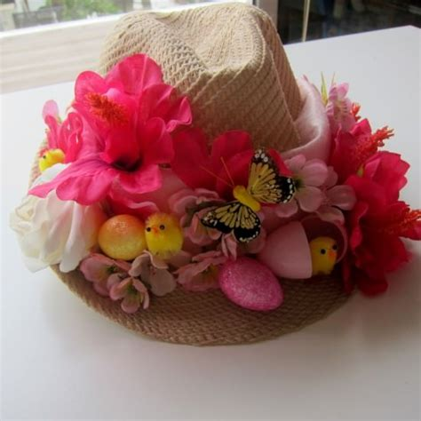 How To Make A Paper Easter Bonnet - 15 easter bonnet patterns to wear tip junkie