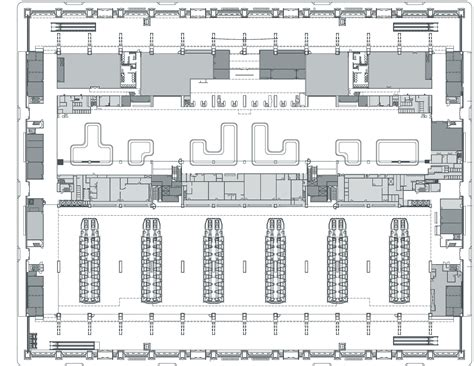 airport floor plan design gallery of regeneration of taoyuan international airport terminal 1 norihiko dan and