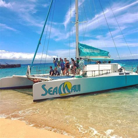 catamaran cruise kaanapali maui hawaii tours discount specials july 4th fireworks