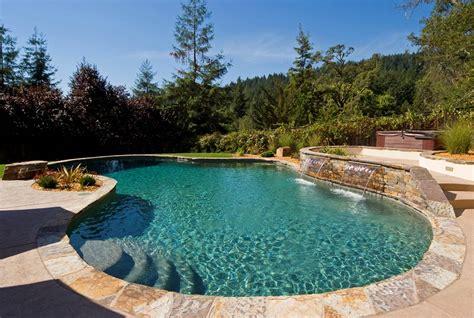 Backyard Pools Of California Swimming Pool Builder Sonoma California News