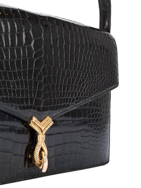 Hermes Birkin Croco Mini Syal 3 hermes black crocodile the cordeau bag mint condition 60s for sale at 1stdibs