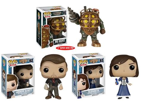 Funko Pop Booker Dewitt Skyhook Bioshock Infinite funko pop bioshock infinite big booker dewitt